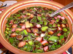 окрошка ассорти (вегетарианская)
